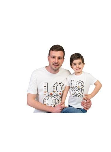 Baskılı Tişört-Familylook